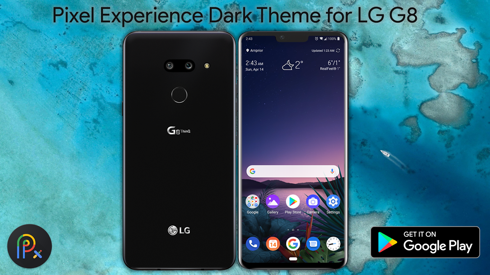 Pixel Experience Dark Theme For LG G8 1 1 APK Download