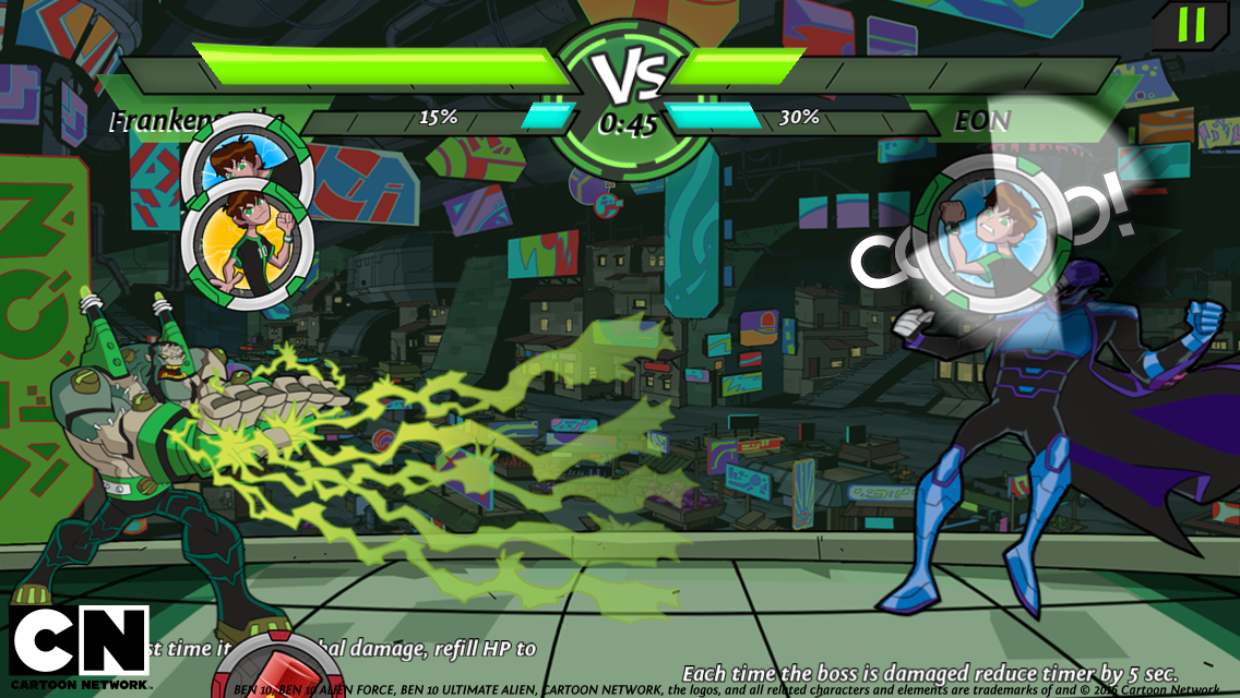 Ben 10 Omnitrix Power Screenshot 11