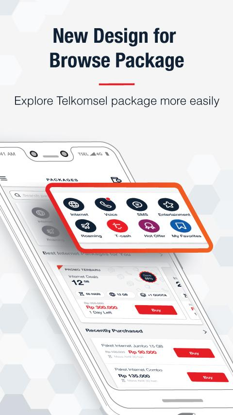Mytelkomsel Check Quota Best Internet Packages 4 1 0 Apk