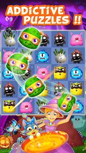 Halloween Mania - Match 3 1.01.08 screenshot 1