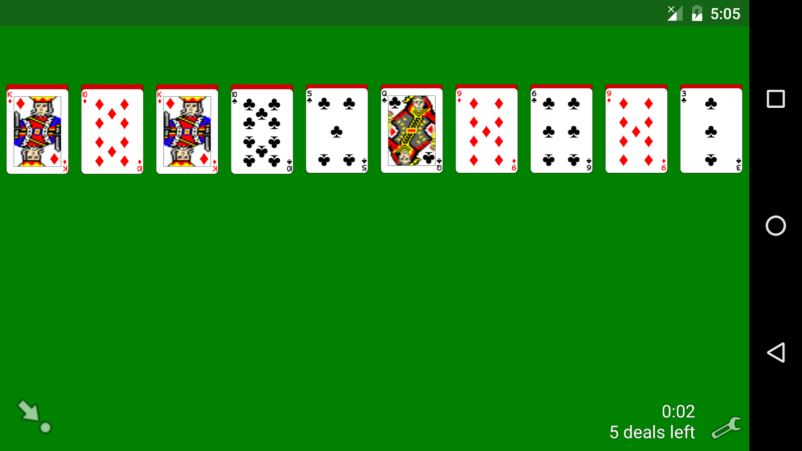 solitaire classic card games