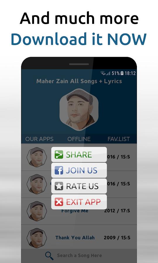 Maher Zain - Songs + Lyrics 1 1 APK Download - Android Music & Audio
