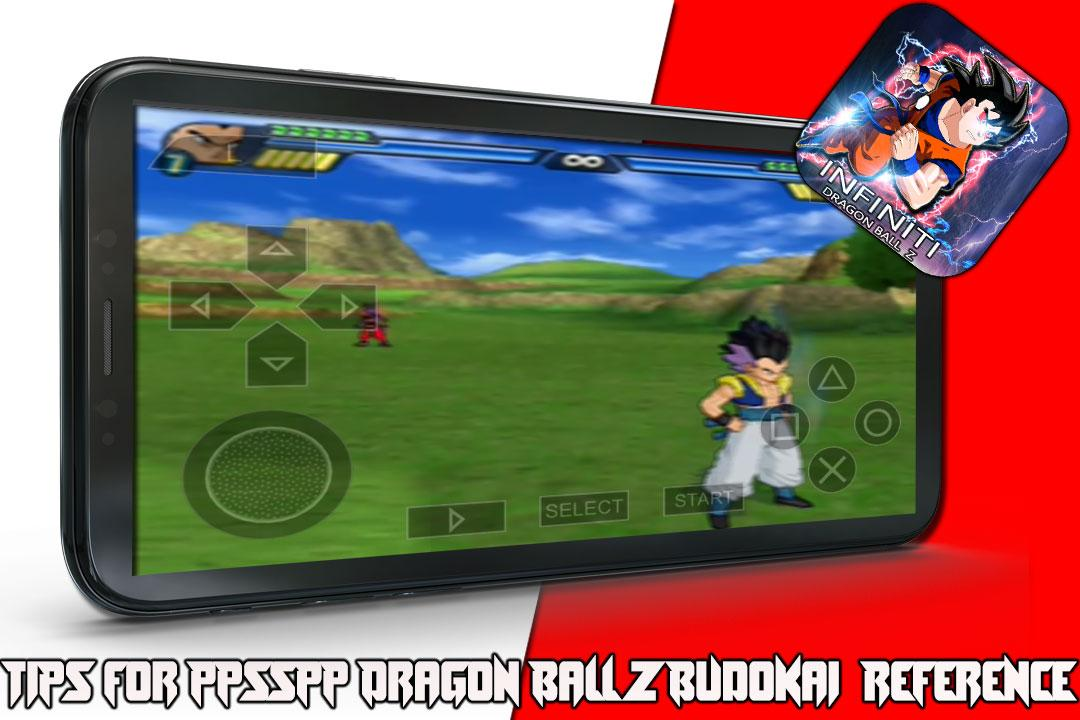 Tips for PPSSPP Dragon Ball Z Budokai Reference 2 0 APK Download