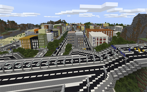 Map Footscray City for Minecraft PE 1 0 1 APK Download