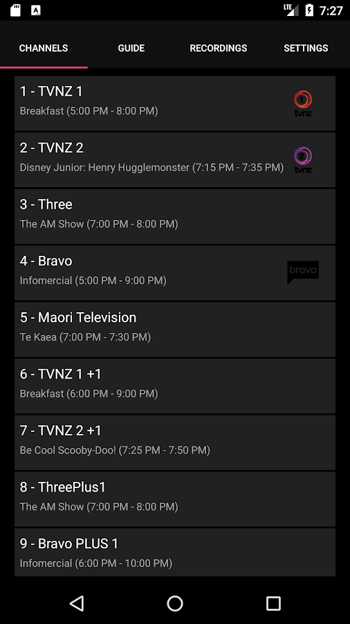 NextPVR 1 4 180821 APK Download - Android cats