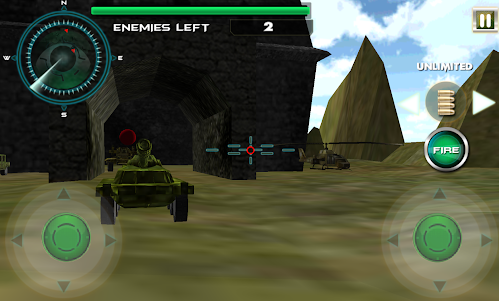 Borderlines Tank Battles Arena 1.1 screenshot 2