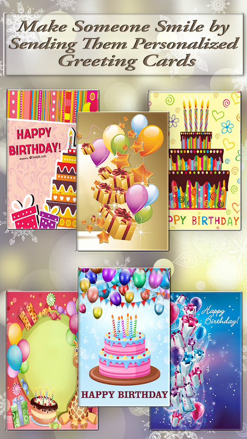Customize Name Photo Birthday Cake Frame And Cards 191 Apk
