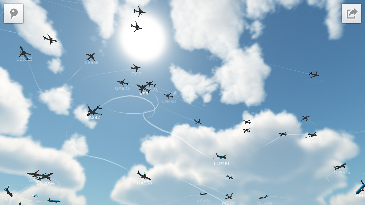 Plane Finder 3D 1 0 APK Download - Android Travel & Local Apps