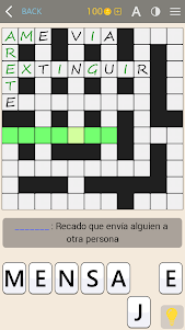 Crosswords - Spanish version (Crucigramas) 1.1.8 screenshot 2
