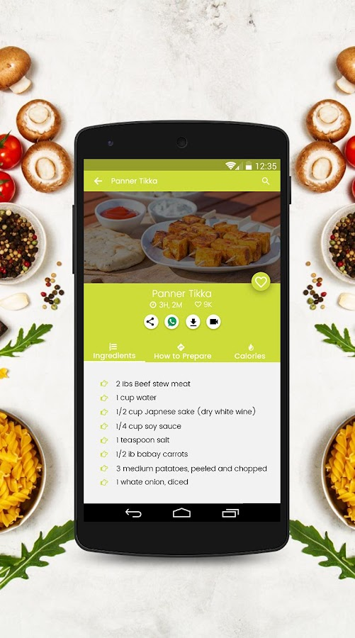 5000+ Punjabi Recipes Free 1 10 APK Download - Android Lifestyle Apps