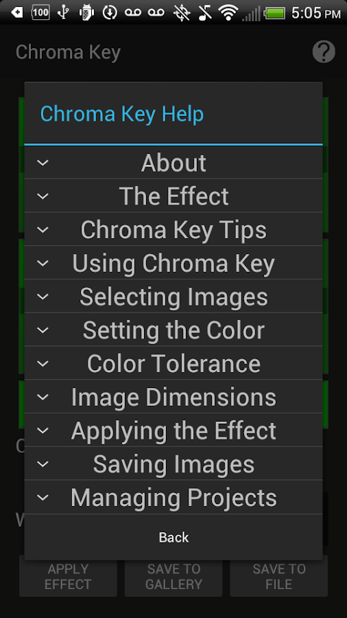 Chroma Key Beta Apk