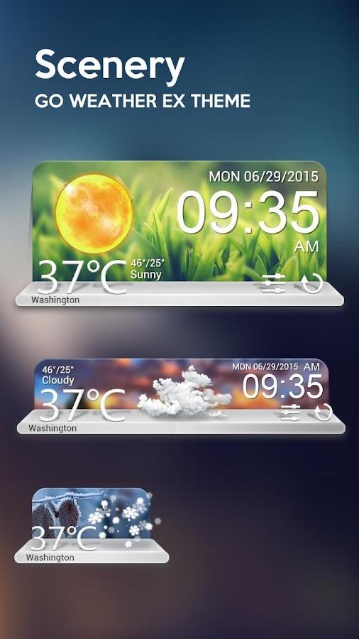 go weather ex app download