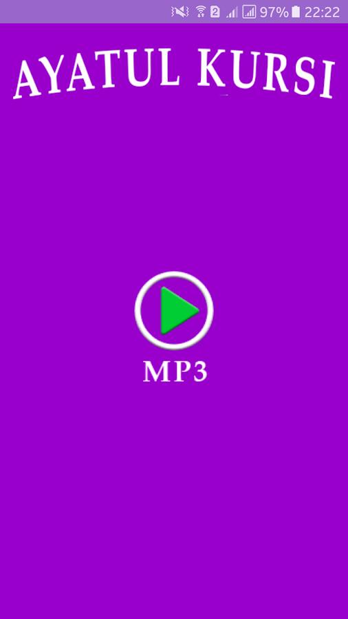 Ayatul Kursi Mp3 1 0 Apk Download Android Education Apps