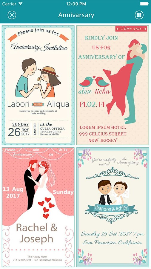 Anniversary Invitation Card Maker 1 2 Apk Download Android