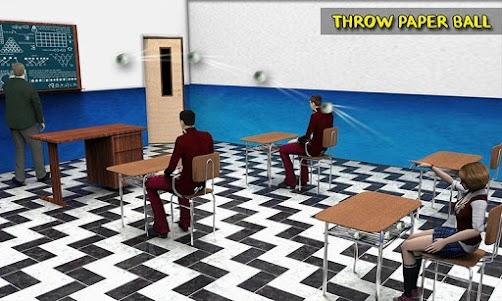 City High School Gangster Revenge: Evil Teacher 1.0 screenshot 1