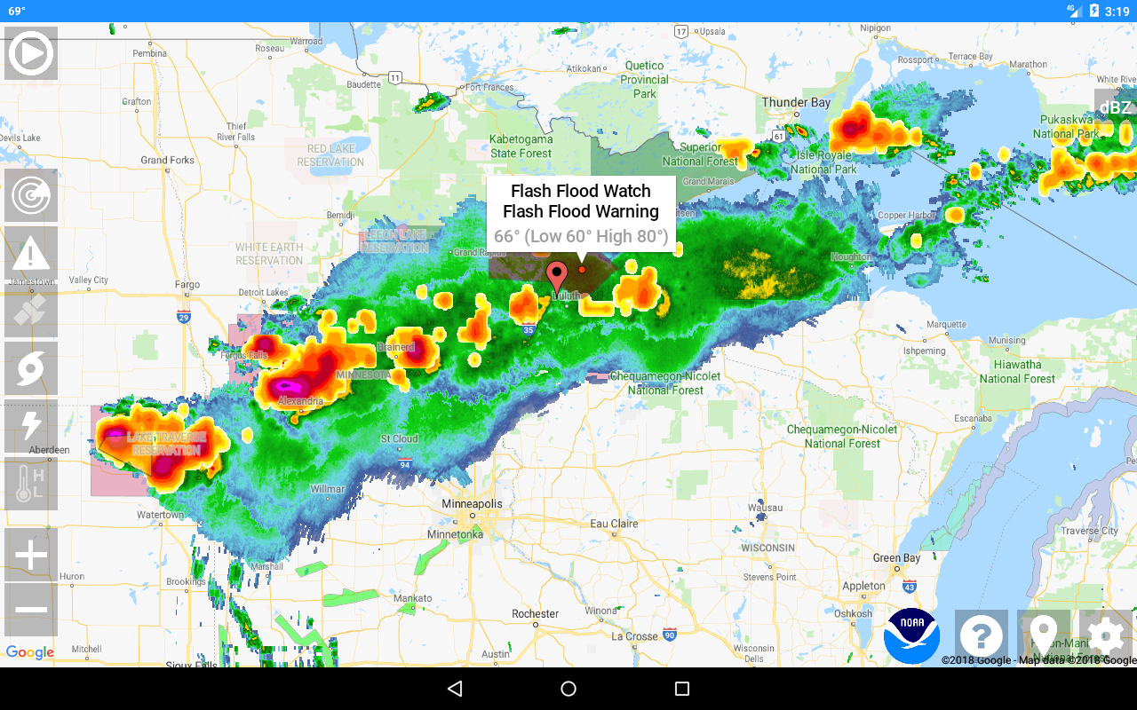 National Weather Service NOW 2 3 1 APK Download - Android