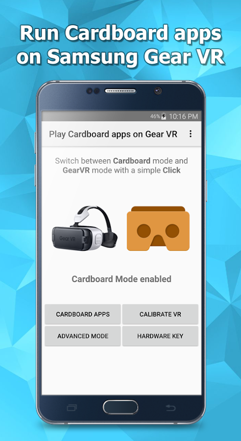 Run Cardboard apps on Gear VR 1 0 8 APK Download - Android Tools Apps