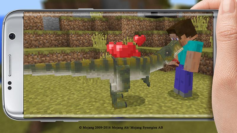 T-Rex Addon For Minecraft PE 1 16+ APK Download - Android
