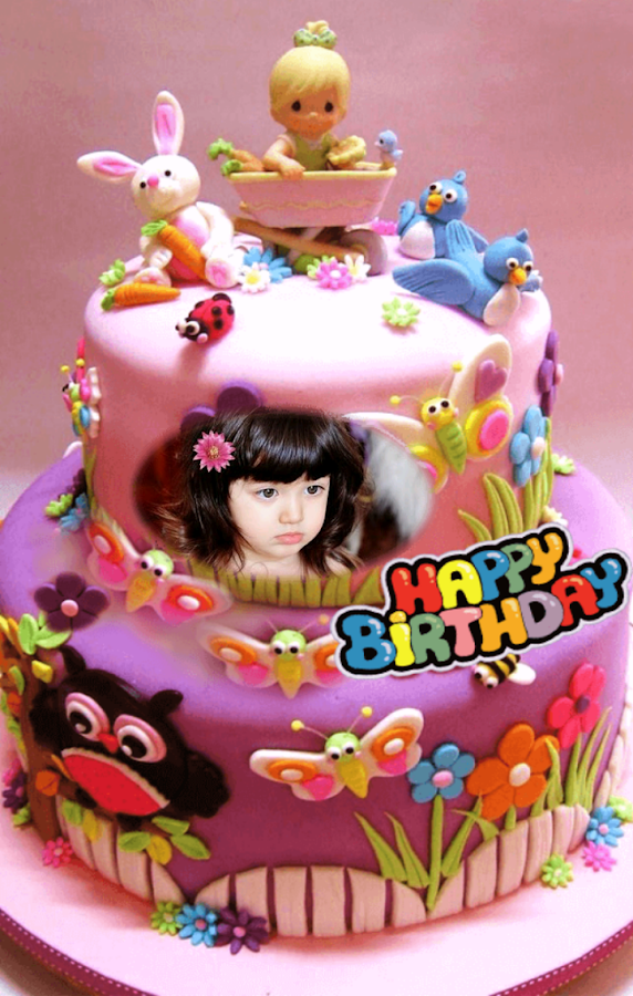 Birthday Cake Photo Frames 17 Screenshot 15