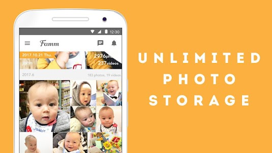 Famm - photo & video storage for baby and kids. 3.10.0 screenshot 2