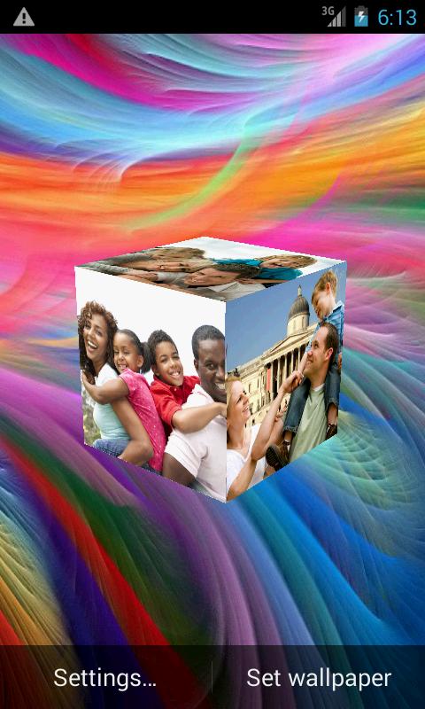 3D Gallery Live Wallpaper 13 Screenshot 1
