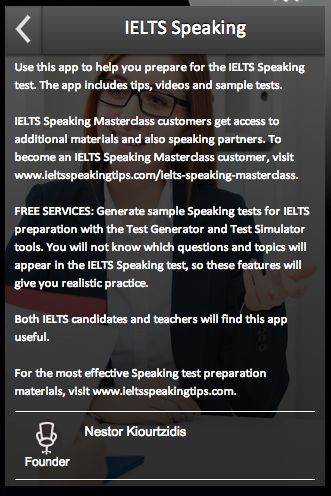 IELTS Speaking 2 0 APK Download - Android Education Apps