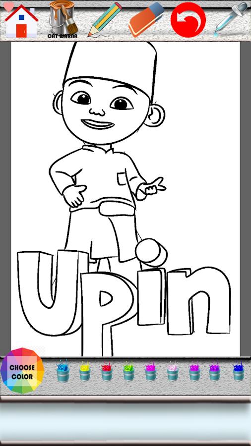 Upin Ipin Game Mewarnai 10 Apk Download Android Educational Games