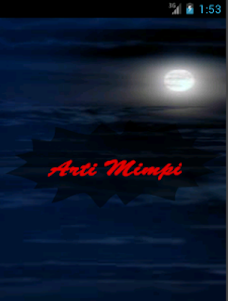 Arti Mimpi 1.0 screenshot 1
