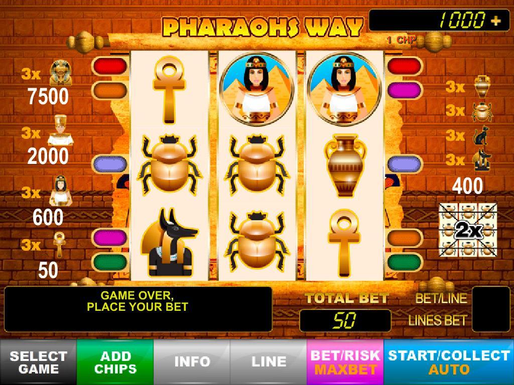Book Of Pharaon Slot Machine