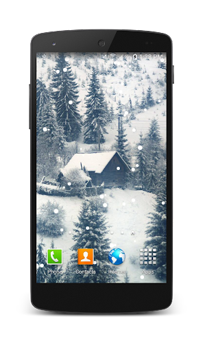 snow fall live wallpaper is great animated wallpaper this is