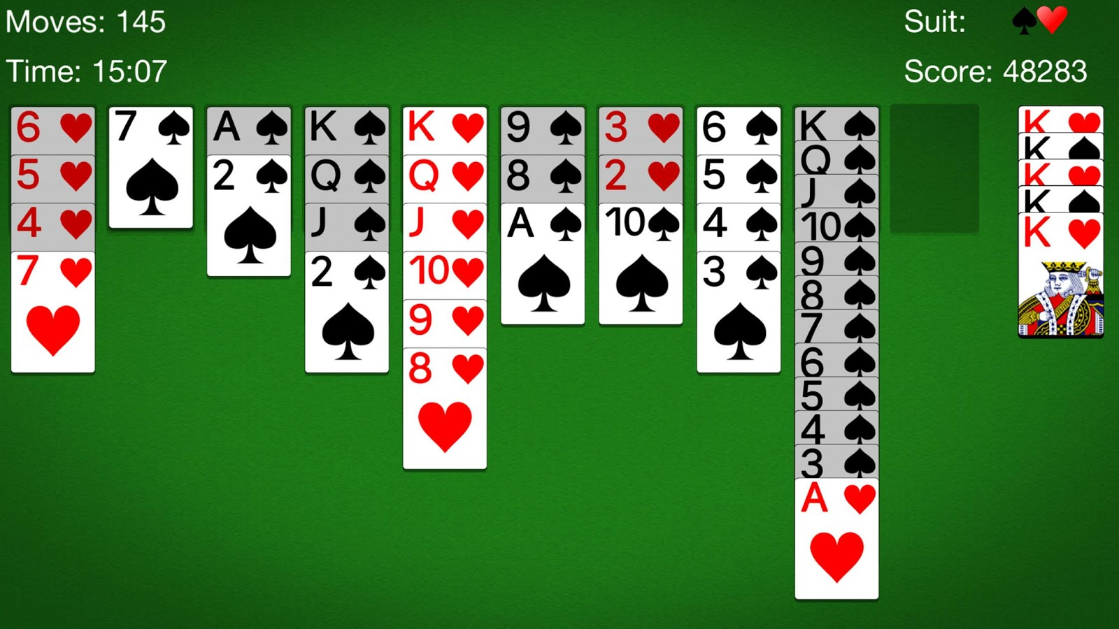 Spider Solitaire Cards Game 107 Apk Download Android Card Games Album Kartu Yu Gi Oh Duelist File Screenshot 8
