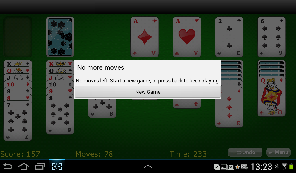 solitaire card game flip 3 cards classic