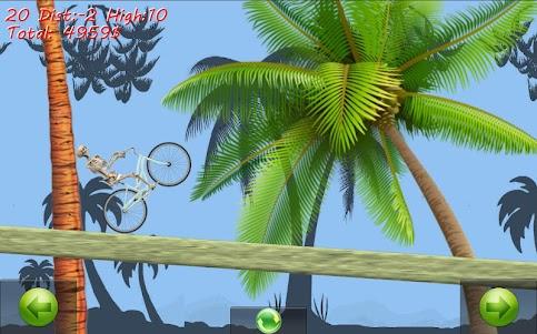 Skeleton Ragdoll Hill Biker 1.08 screenshot 4