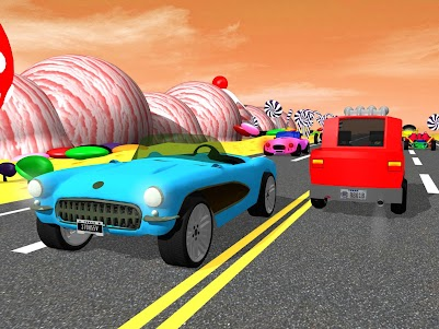 Kids Traffic Racer Game 1.1.1 screenshot 8