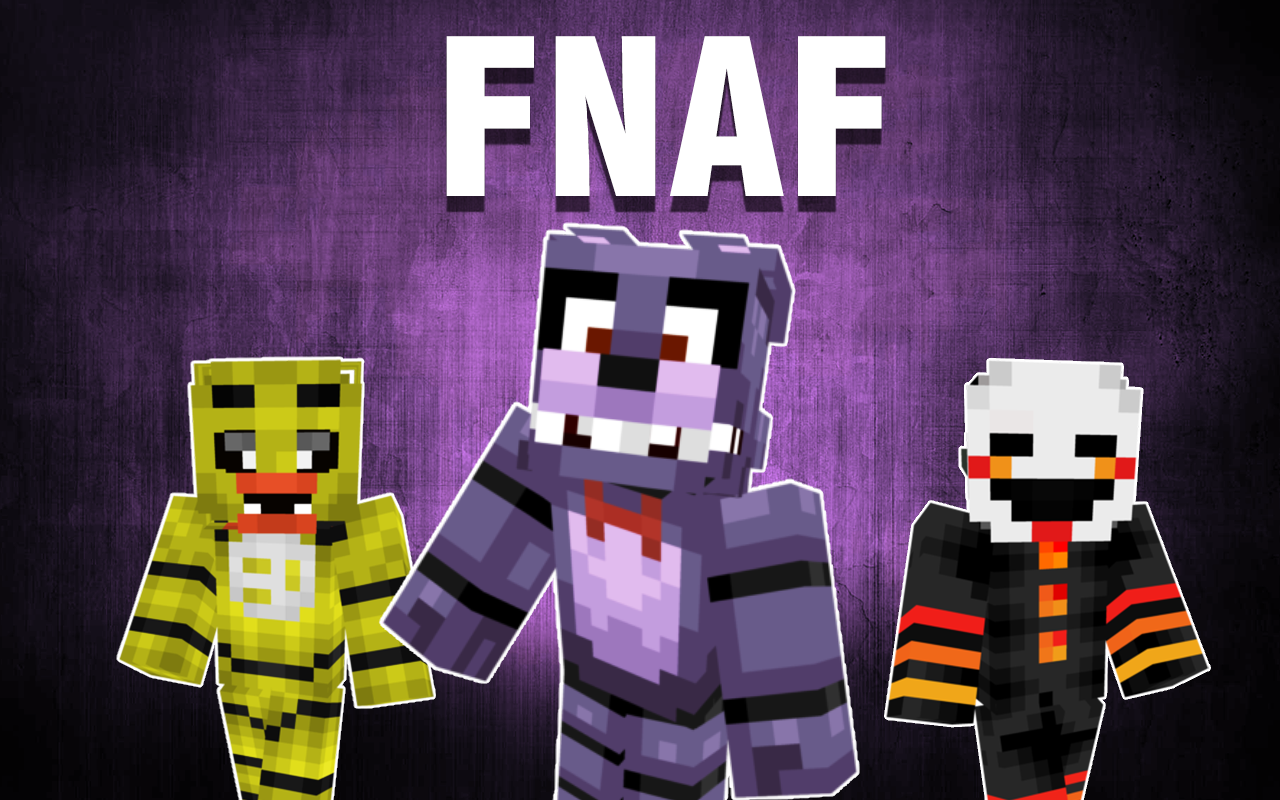 Top FNAF Skins For Minecraft APK Download Android Tools Apps - Skins para minecraft 1 8