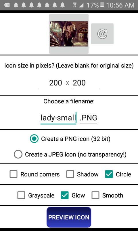 Icon Maker - icon creator for custom size PNG icon 3 4 APK