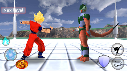 Goku Saiyan real battle Z 2.0 screenshot 2