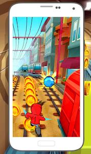 Subway Soni Frozen Running 1.0 screenshot 2