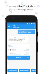 Haptik Assistant - Reminders, Flights, Cabs 6.14.0 screenshot 5