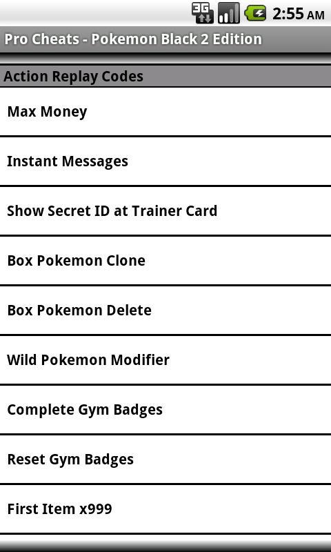 Pro <b>Cheats Pokemon Black</b> 2 Edn 1.0 APK Download - Android Books ...