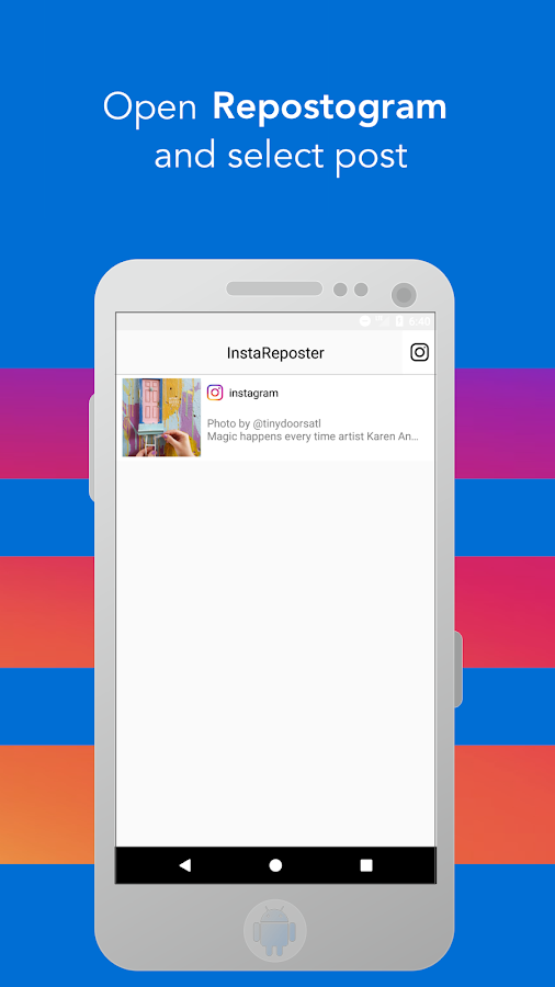 Repostogram Save Share Repost Instagram 105 Apk Download