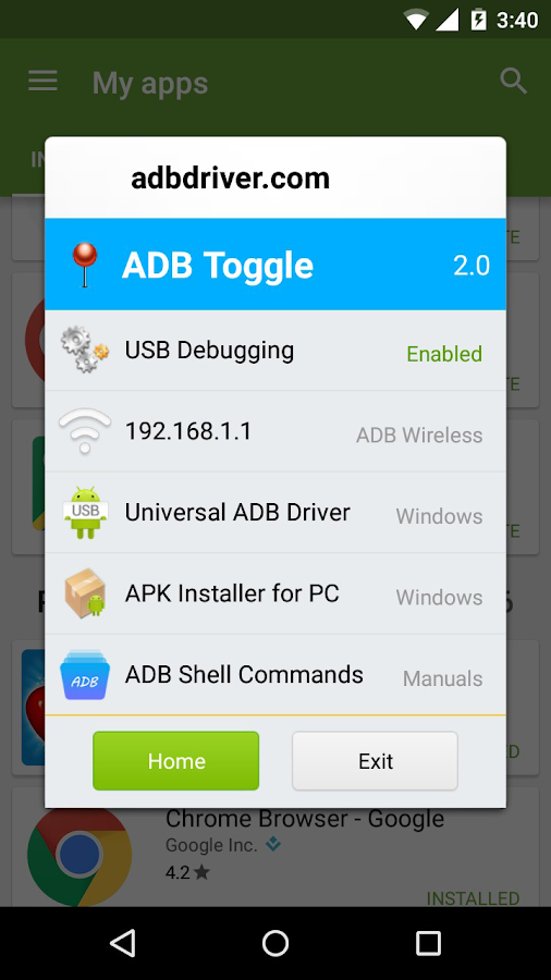 ADB Toggle 2 0 APK Download - Android Tools Apps