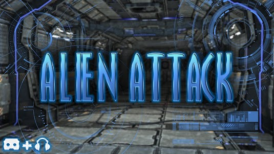 Alien Attack VR - Cardboard 1.6.2 screenshot 1