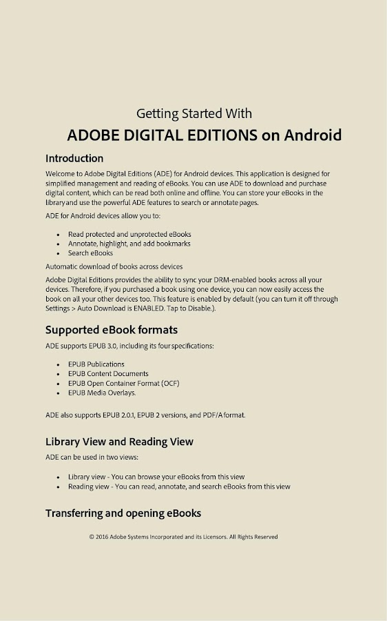 Adobe digital editions 458 apk download android books adobe digital editions 458 screenshot 10 fandeluxe Images