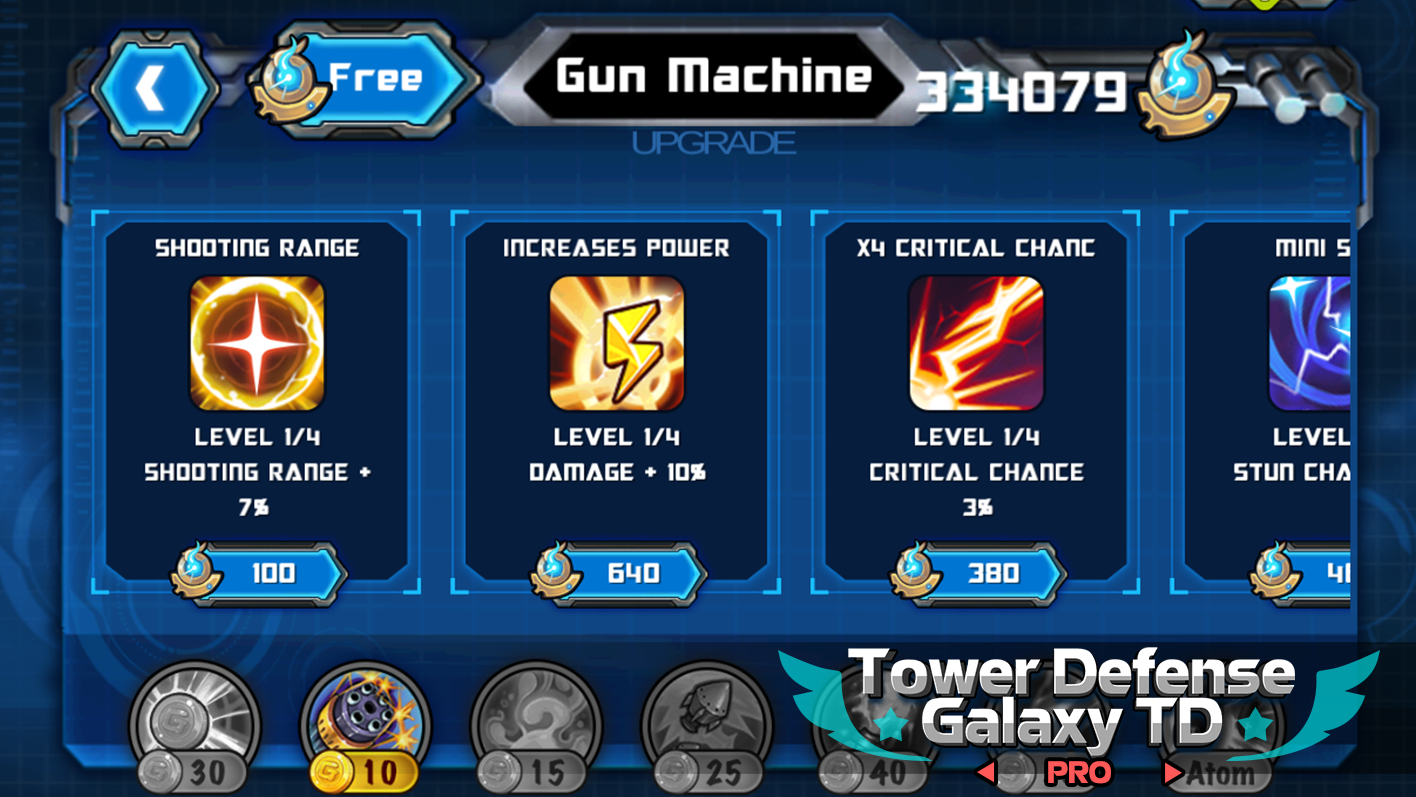 Tower Defense: Galaxy TD Pro 1 3 1 APK Download - Android Strategy Games