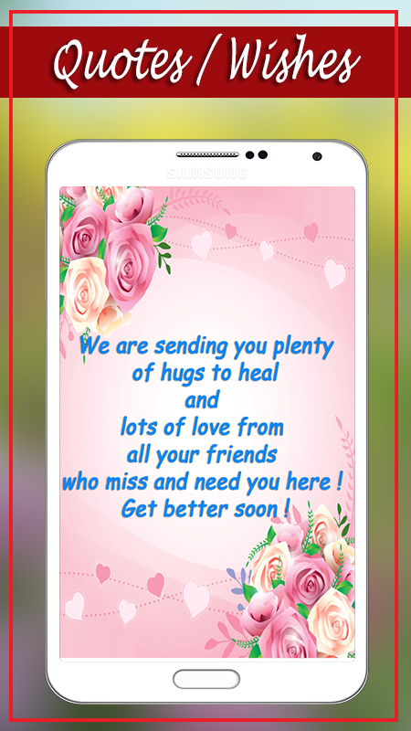 Get well soon greeting cards 10006 apk download android social apps get well soon greeting cards 10006 screenshot 2 m4hsunfo