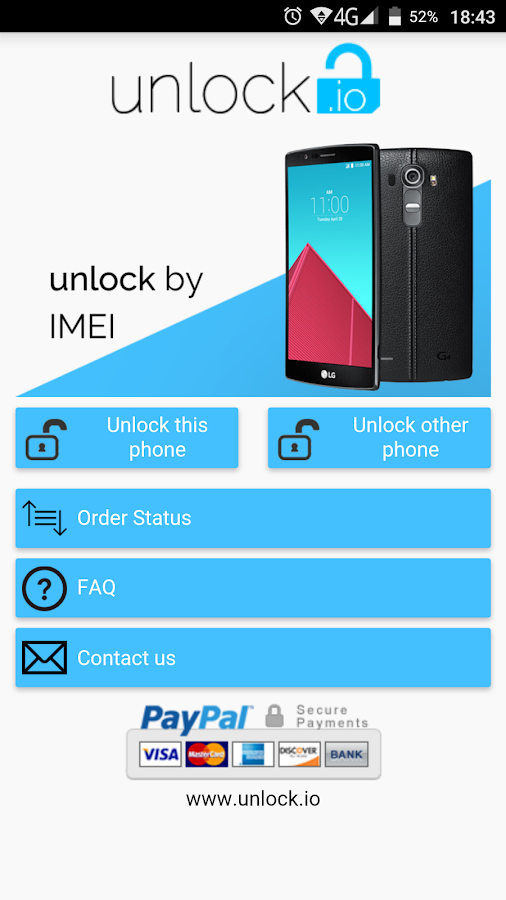 Unlock your LG phone by code 2 0 APK Download - Android Tools Apps