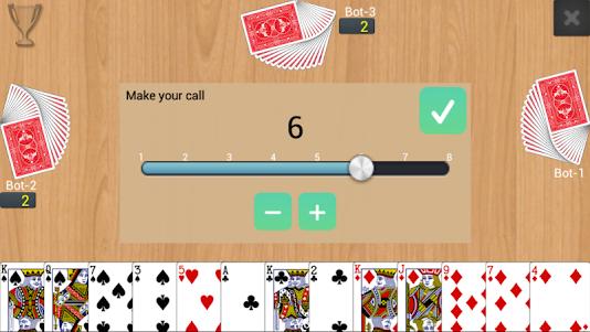 Callbreak Multiplayer  screenshot 1