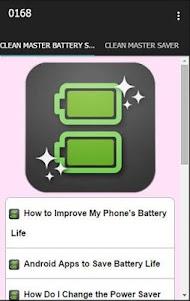Clean Master Battery Saver 2.3 screenshot 1