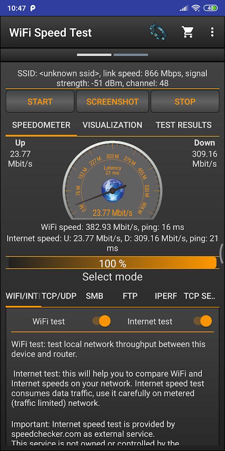 nperf speed test pro apk